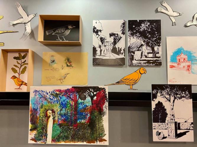 La librairie Stendhal de Rome ouvre la cage aux oiseaux