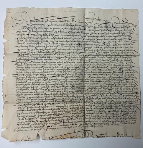 Le Mexique récupère une lettre écrite de la main d'Hernán Cortés