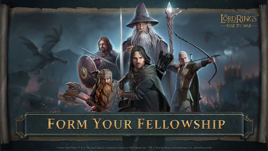 Le wargame Lord of the Ring arrive sur Android et iOS