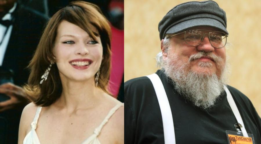 Milla Jovovich star de l'adaptation d'une nouvelle de George R.R. Martin