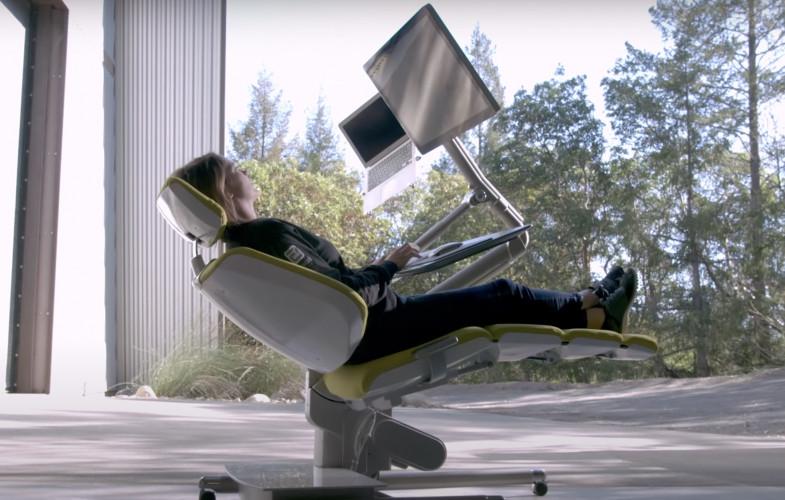 Le confort d'un télétravail assis, couché, debout pour 6300 €