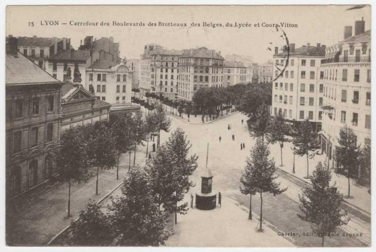 Les rues de Lyon, à présent disponibles en open data