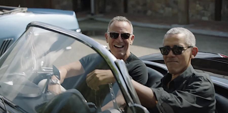 Barack Obama et Bruce Springsteen en duo, pour l'Amérique