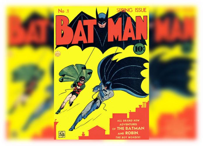 Le premier numéro du magazine Batman vendu pour 2,2 millions $