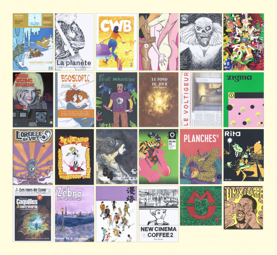 11 pays pour la 40e édition du prix de la bande dessinée alternative