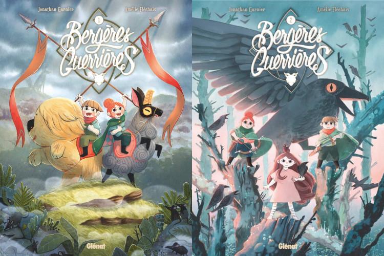 La série BD Bergères guerrières adaptée en série animée