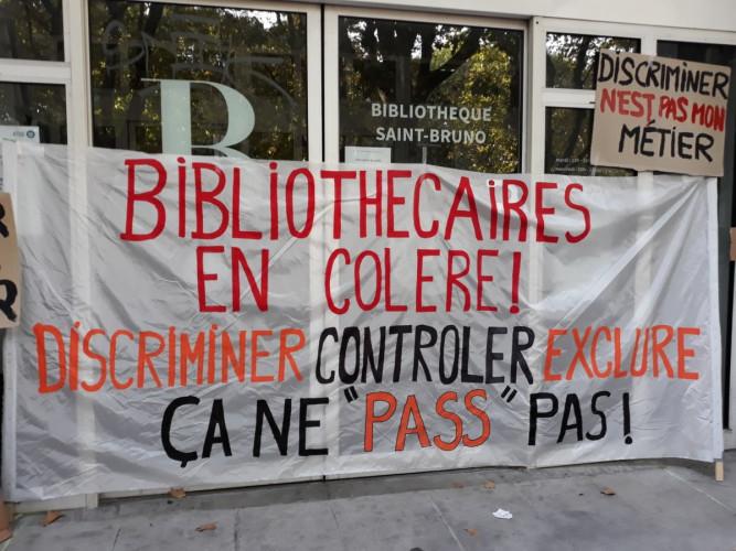 Le 1er octobre, une grève nationale des bibliothécaires contre le pass sanitaire