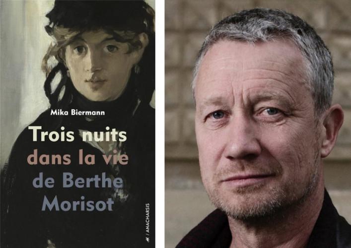Mika Biermann, lauréat du Prix de l'Instant 2021 pour Trois nuits dans la vie de Berthe Morisot