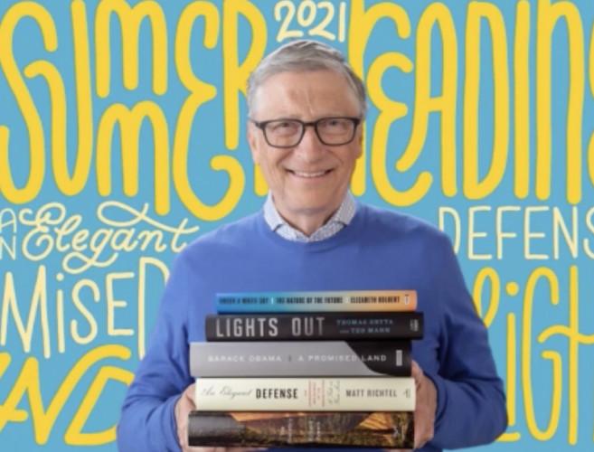 Les conseils lecture de Bill Gates pour cet été : réconcilier l'humanité et la nature