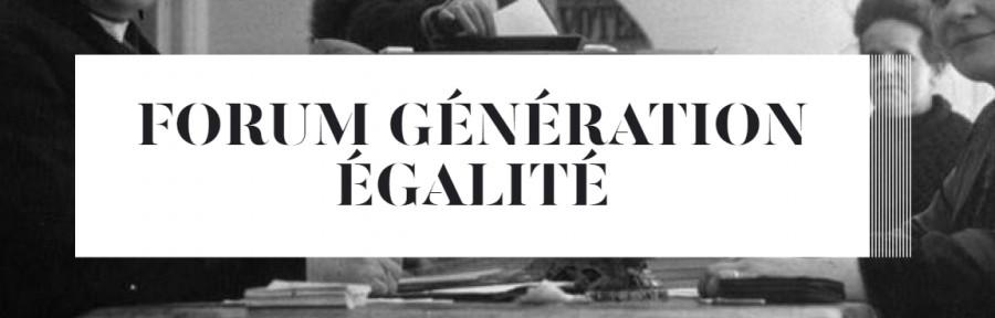 Forum Génération Egalité: la BnFse penche sur la visibilité des femmes et de leurs combats