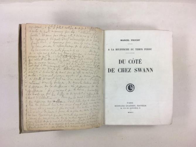L'édition originale de Du côté de chez Swann entre à la BnF