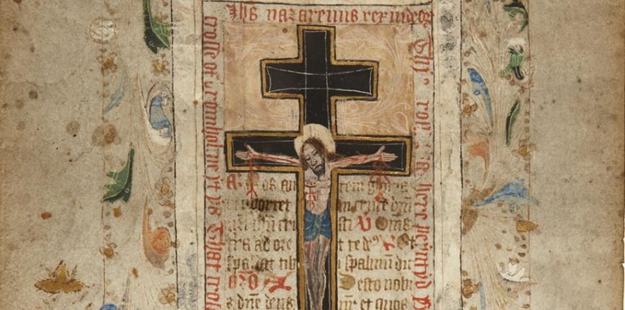 Un rouleau de prières de 500 ans évoque la croix de la Passion du Christ