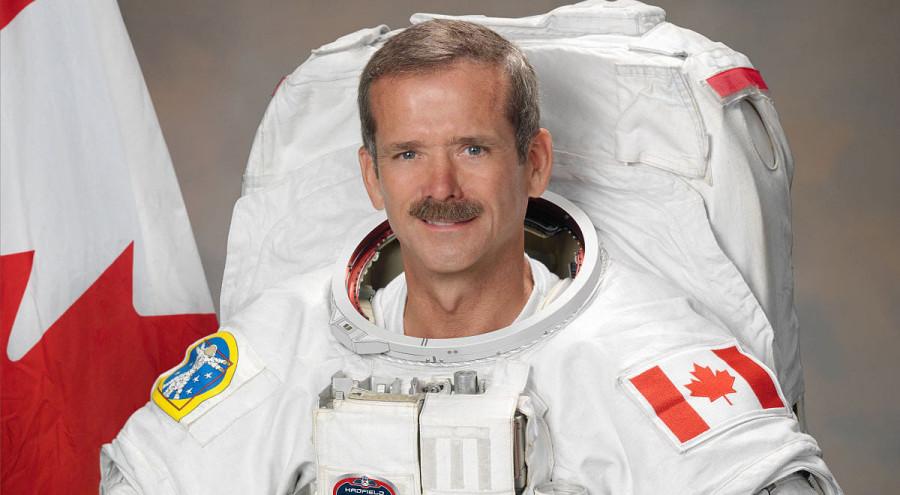 Chris Hadfield, l'astronaute retraité, devenu auteur d'un thriller spatial