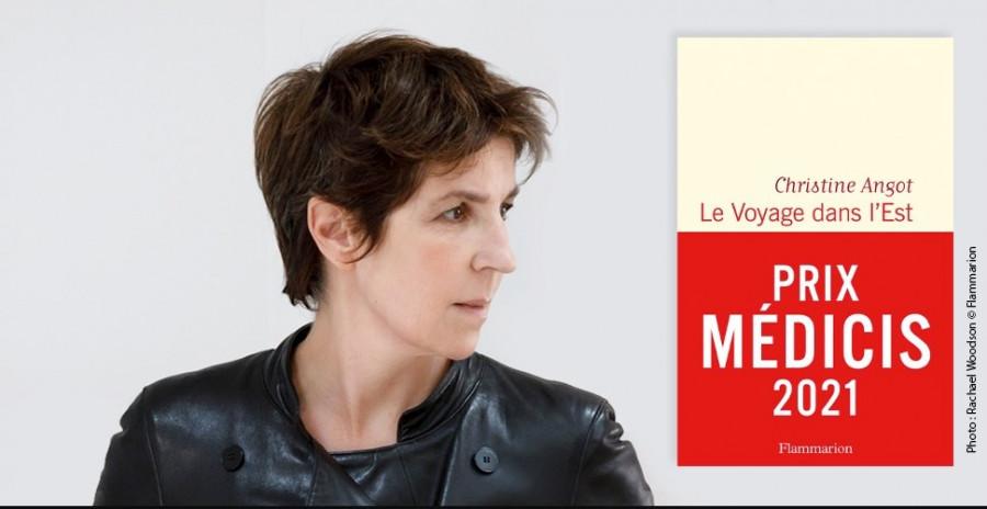 Le Médicis 2021 revient à Christine Angot pour son roman Le Voyage dans l'Est