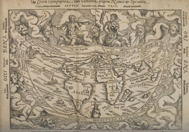 Le cosmos enfermé dans un livre du XVIe siècle