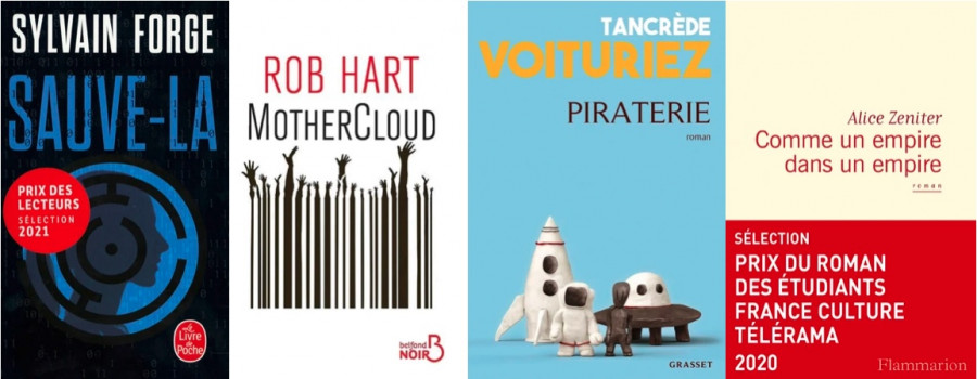 Seconde sélection du Prix du roman Cyber Agora 41 : 4 romans dans le cloud...