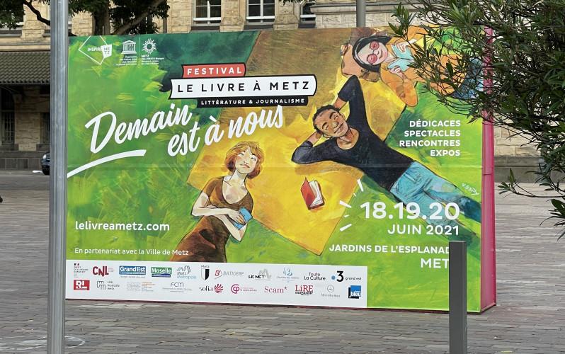 """Le Livre à Metz : """"Ce que nous recherchons, c'est la générosité."""""""