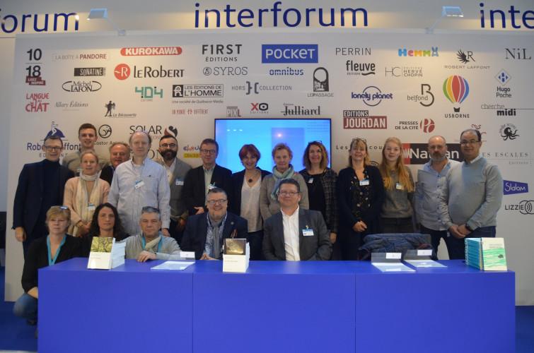 Interforum fournira les librairies belges depuis la France