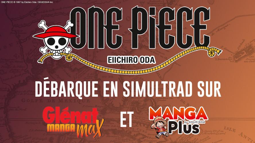 One Piece proposé en simultrad gratuitement par Glénat