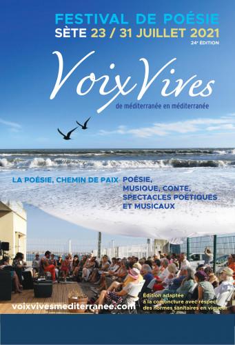 Poésie : 24e édition du Festival Voix Vives