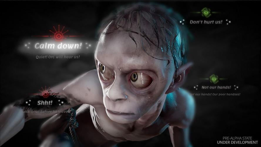 De nouvelles images du jeu vidéo centré sur Gollum