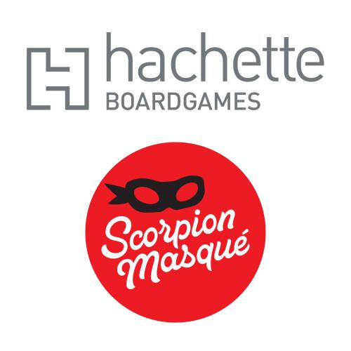 Hachette acquiert un nouvel éditeur de jeux de société, Le Scorpion Masqué