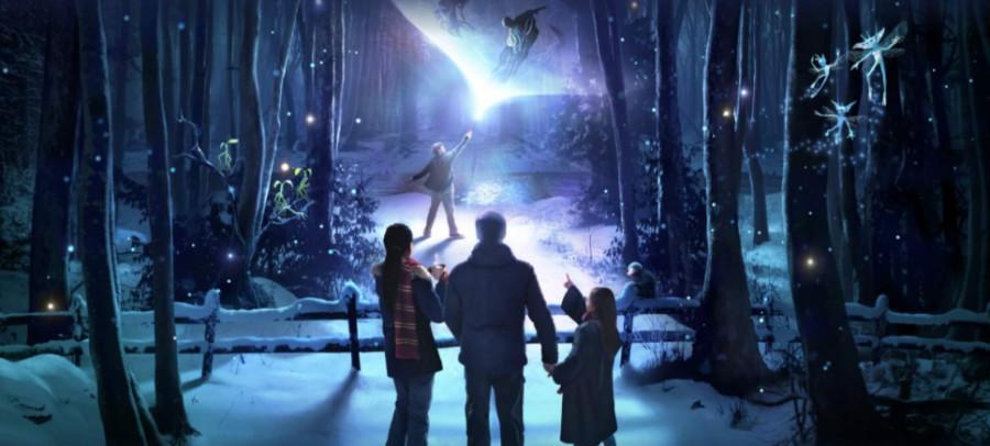 Plongez dans les recoins sombres de la Forêt interdite avec Harry Potter