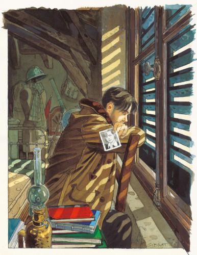 Aux enchères, les oeuvres de Jean-Pierre Gibrat convoitées