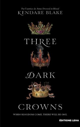 Three Dark Crowns,Kendare Blake imagine le Game of Thrones au féminin
