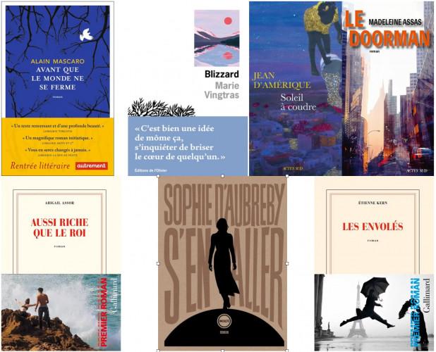 Sélection des Rendez-vous du Premier roman : les nouvelles voix francophones