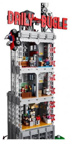 Spider-Man : la tour du Daily Bugle, le plus grand set Lego Marvel