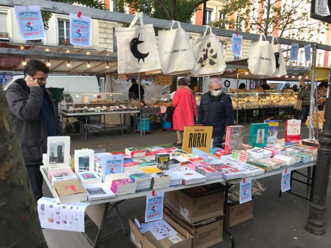 Les librairies de Paris s'installent à nouveau sur les marchés de la Ville