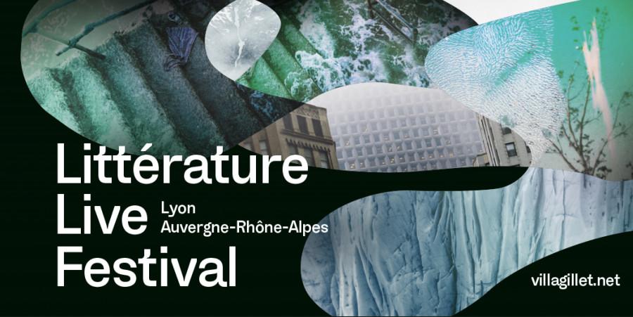 Des entretiens d'auteurs pour le Littérature Live Festival de la Villa Gillet à Lyon