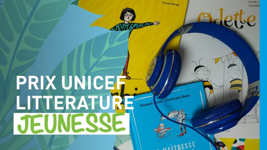 Le Prix UNICEF de littérature jeunesse accessible aux enfants aveugles ou malvoyants