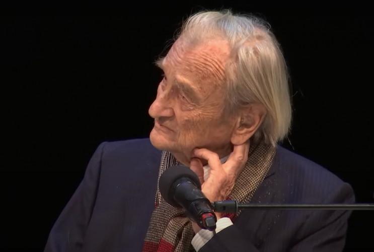 Michel Deguy reçoit le premier Prix Guez de Balzac