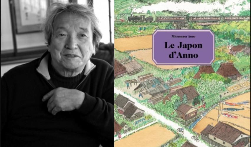 Mitsumasa Anno, auteur-illustrateur japonais, décédé ce 24 décembre