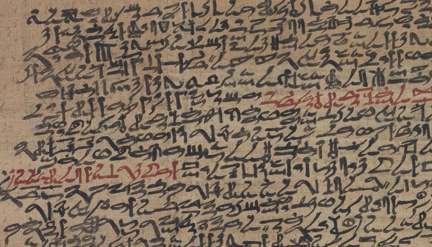Le Papyrus Prisse, un des plus anciens manuscrits littéraires du monde
