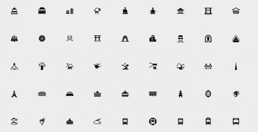 Mieux comprendre la culture japonaise grâce à des pictogrammes