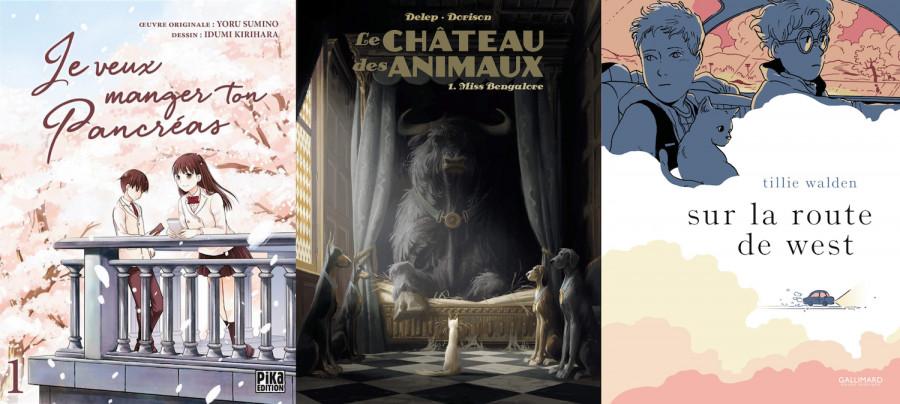 Mangas, BD, comics : de jeunes lecteurs élisent leurs ouvrages favoris