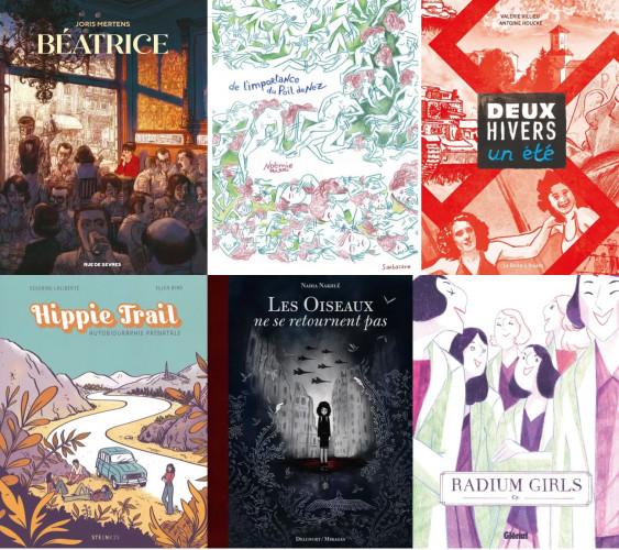 Prix BD Lecteurs.com 2021 : découvrez les 6 finalistes