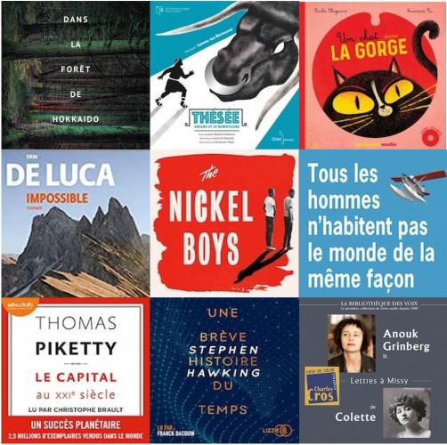 Sélection 2021 du Prix du livre audio France Culture - Lire dans le noir