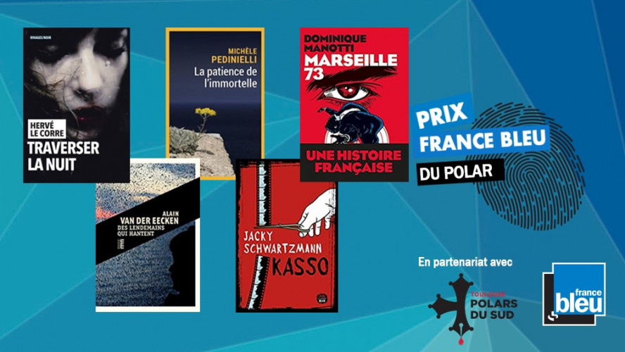 Le prix France bleu du polar dégaine sa première sélection 2021
