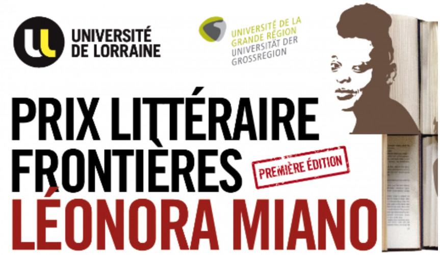Lancement du prix littéraire Frontières - Léonora Miano