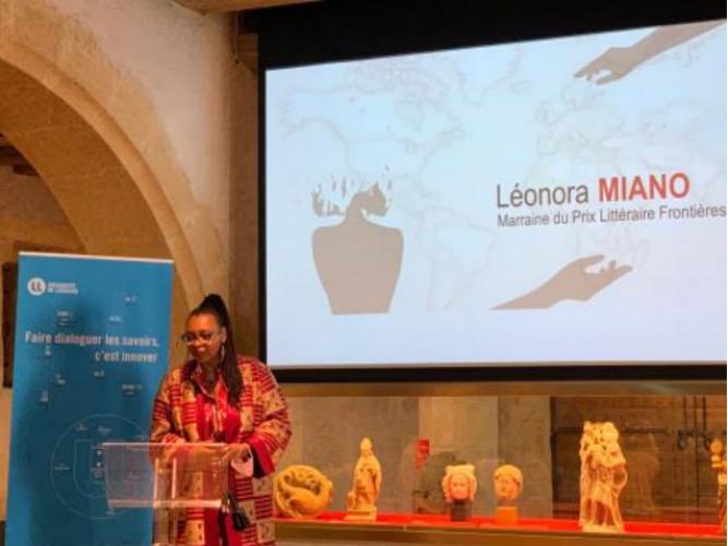 Trois lauréats pour la première édition du Prix littéraire «Frontières» Léonora Miano