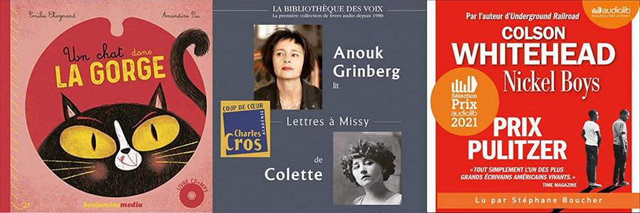 Annonce des lauréats 2021 du Prix du livre audio France Culture - Lire dans le noir