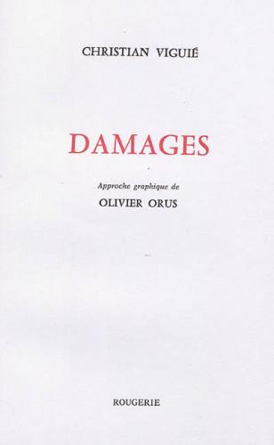 Le Prix Mallarmé 2021 remis à Christian Viguié pour Damages