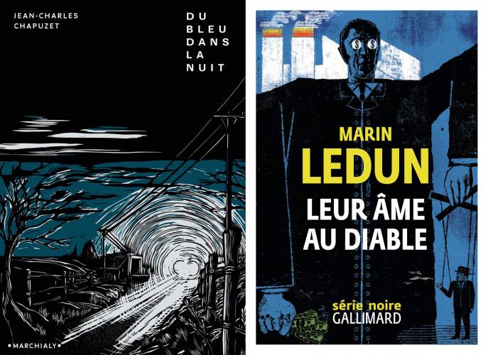 Le Prix Polar en Séries décerné à Marin Ledun et Jean-Charles Chapuzet