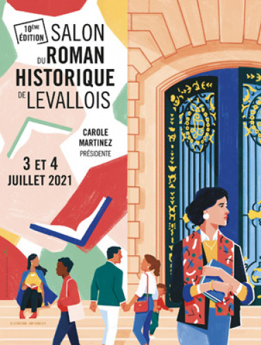 Salon du roman historique de Levallois : une 10e édition en plein air