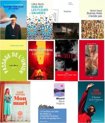 17 livres retenus pour le Prix du premier roman 2021 français et étranger