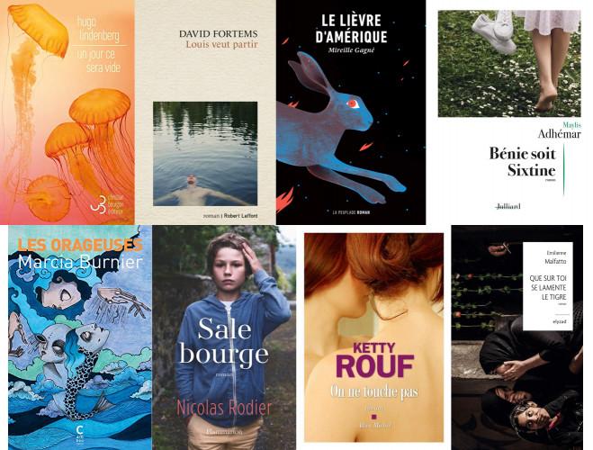 Huit romans sélectionnés pour le Prix Régine Deforges 2021